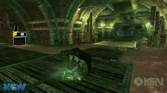 Batman Arkham Asylum Video Guide-Walkthrough - BAA - Croc's Lair - Crocodile Hunter
