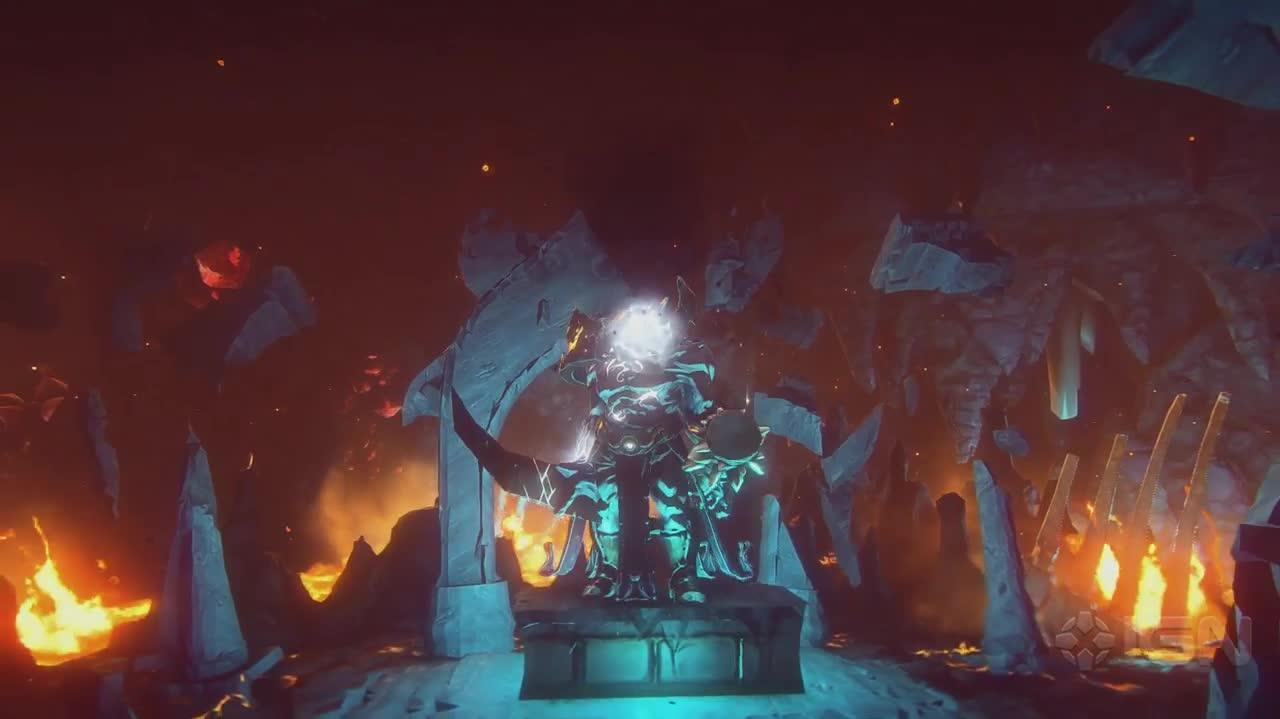 EverQuest Next Battling a Goliath