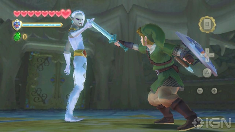Zelda Skyward Sword Comic-Con 2011 Trailer