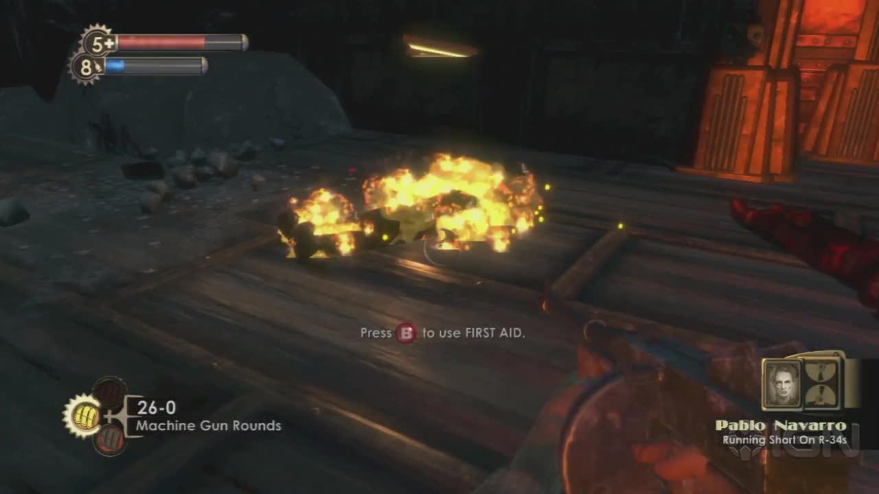 BioShock - Diaries Pablo Navarro - Gameplay