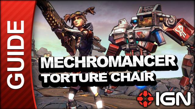 Borderlands 2 Mechromancer Walkthrough - Torture Chairs - Side Mission