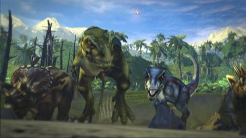 Combat Of Giants Dinosaurs 3D (VG) (2011) - 3DS trailer