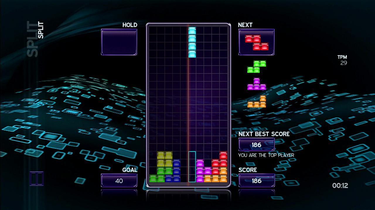 Tetris The Split Gameplay