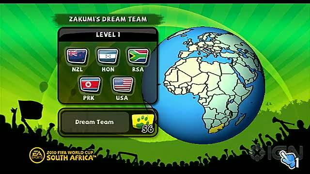 2010 FIFA World Cup South Africa Nintendo Wii Trailer - Zakumi's Dream Team
