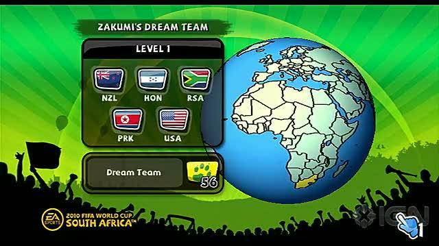 2010 FIFA World Cup South Africa Nintendo Wii Trailer - Zakumi's Dream Team