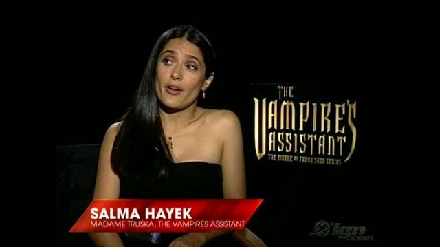 Cirque du Freak The Vampire's Assistant Movie Interview - Salma Hayek