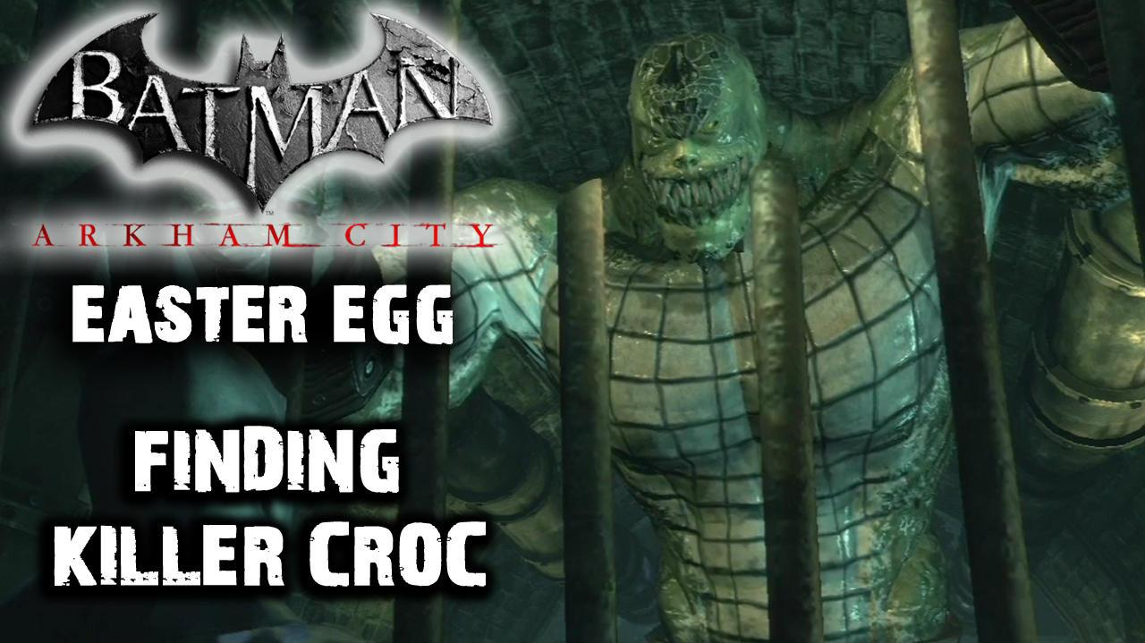 Batman Arkham City - Killer Croc's Appearance