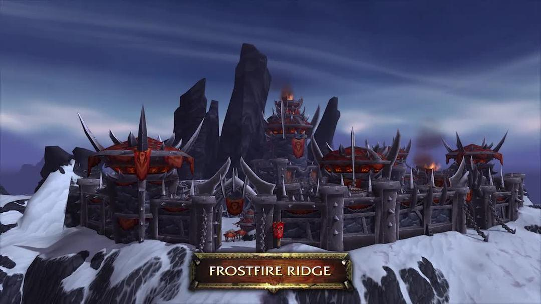World of Warcraft Warlords of Draenor - Horde and Alliance Zone