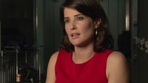 Avengers Age Of Ultron Cobie Smulders On The Dynamic On Set