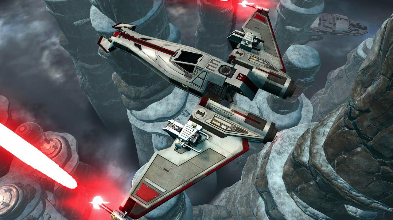 Star Wars The Old Republic - Galactic Starfighter Gameplay Trailer