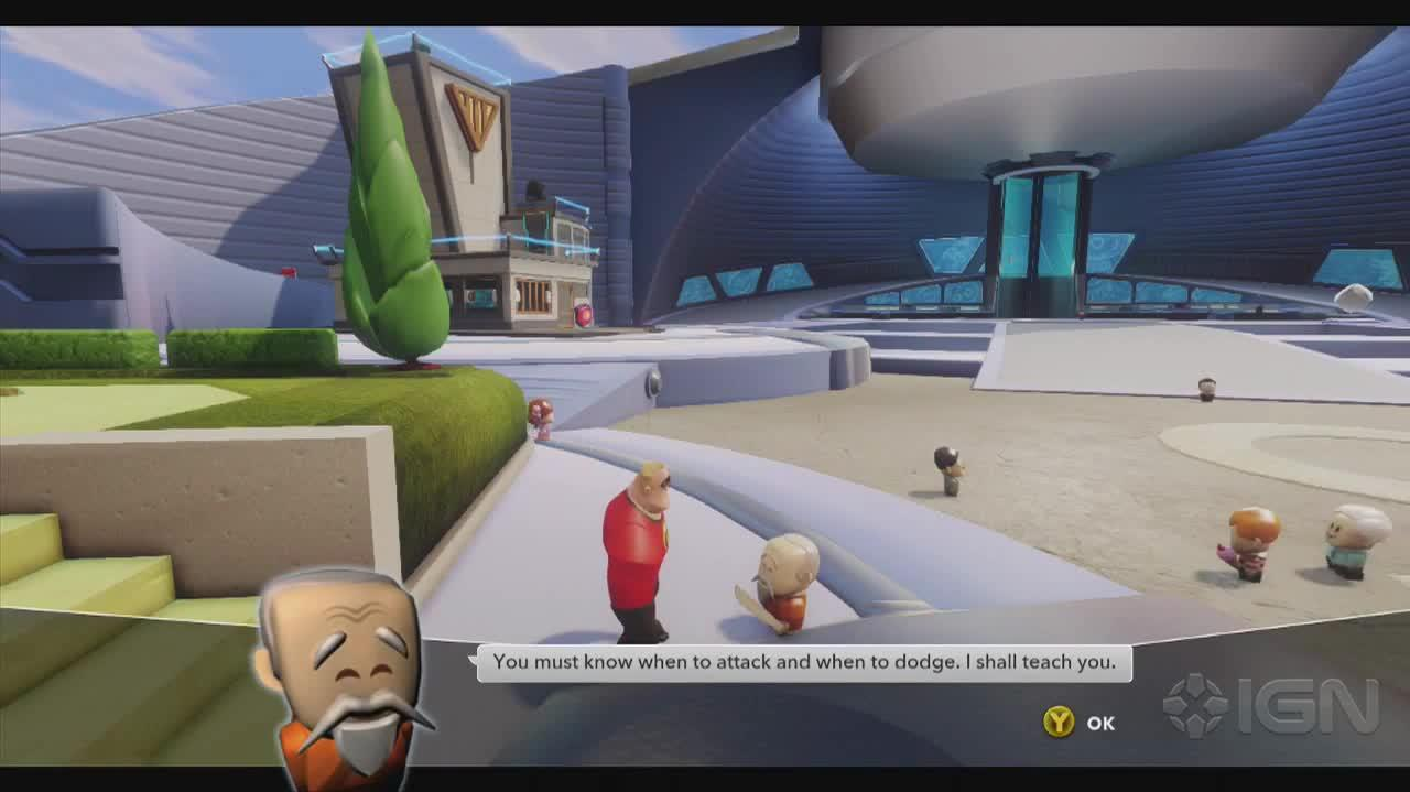 Disney Infinity Walkthrough - The Incredibles Dodge