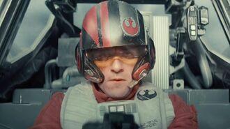 Star Wars Luke Skywalker and Han Solo Inspired Poe Dameron in The Force Awakens