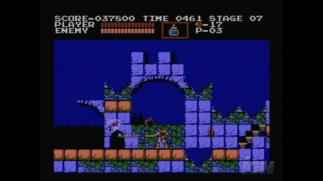 Castlevania Retro Game Gameplay - Keep Going