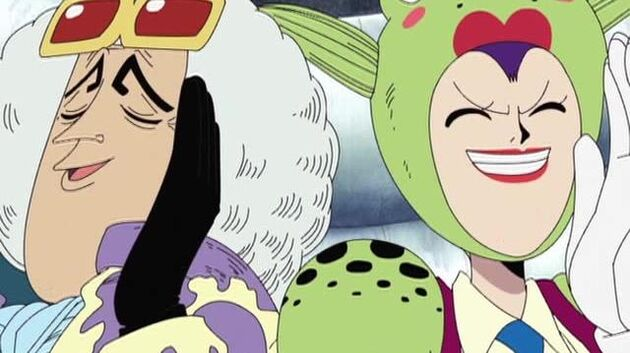 One Piece - Episode 125 - Magnificent Wings! My Name Is Pell, Guardian Deity of the Country!
