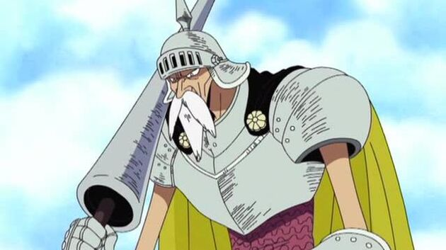 One Piece - Episode 153 - Sail the White Sea! the Sky Knight and the Gate in the Clouds!