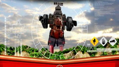 Power Rangers Operation Overdrive (2008) - Clip Megazord intro, post
