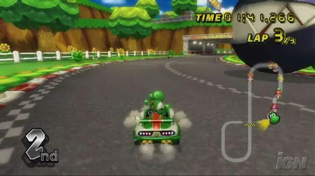 Mario Kart Wii Nintendo Wii Video - Flower Cup (480p)
