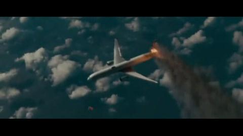 Superman Returns - The airplane falling