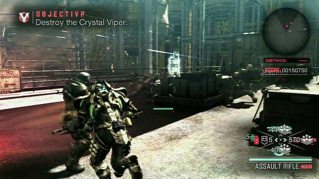 Vanquish Boss Fight (Normal) - Act 4-4 Slave - IGN Guides