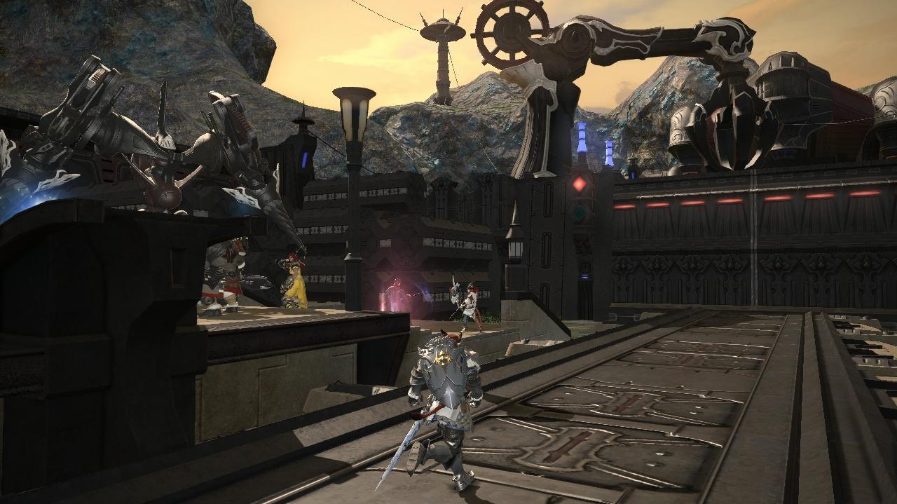 Final Fantasy XIV ARR - Story Mode Garuda Battle