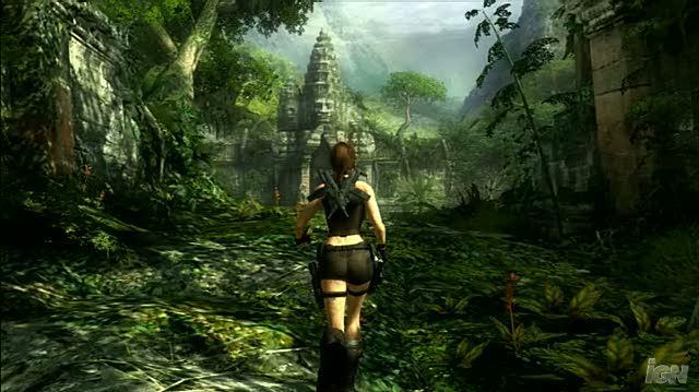 Tomb Raider Underworld PlayStation 3 Gameplay - Temple Climb