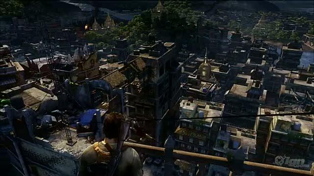 Uncharted 2 Among Thieves PlayStation 3 Gameplay - E3 2009 Demo Pt. 1