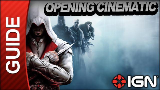 Assassin's Creed Brotherhood Walkthrough - Opening Cinematic