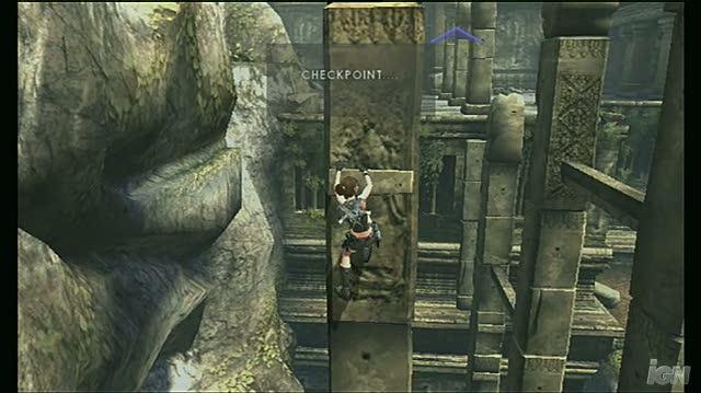 Tomb Raider Underworld Nintendo Wii Gameplay - Platforming In Thailand