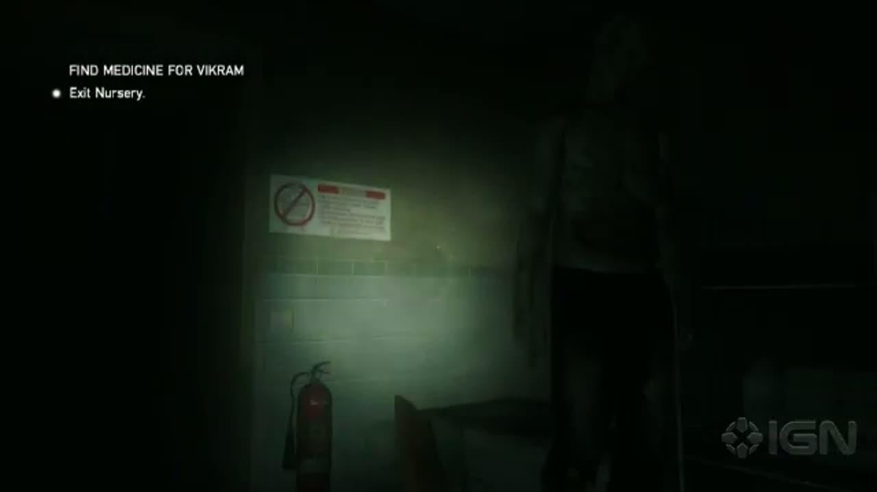 ZombiU - Zombie Swarm Gameplay - E3 2012