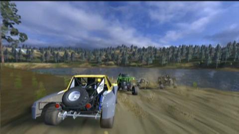 Baja Edge Of Control (VG) (2008) - Kart race trailer