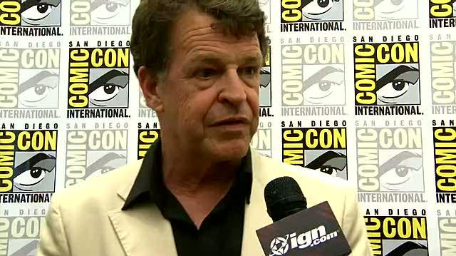 Fringe TV Interview - SDCC 09 John Noble