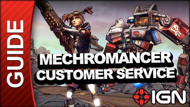 Borderlands 2 Mechromancer Walkthrough - Customer Service - Side Mission