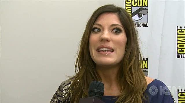Dexter TV - SDCC 10 Jennifer Carpenter Interview