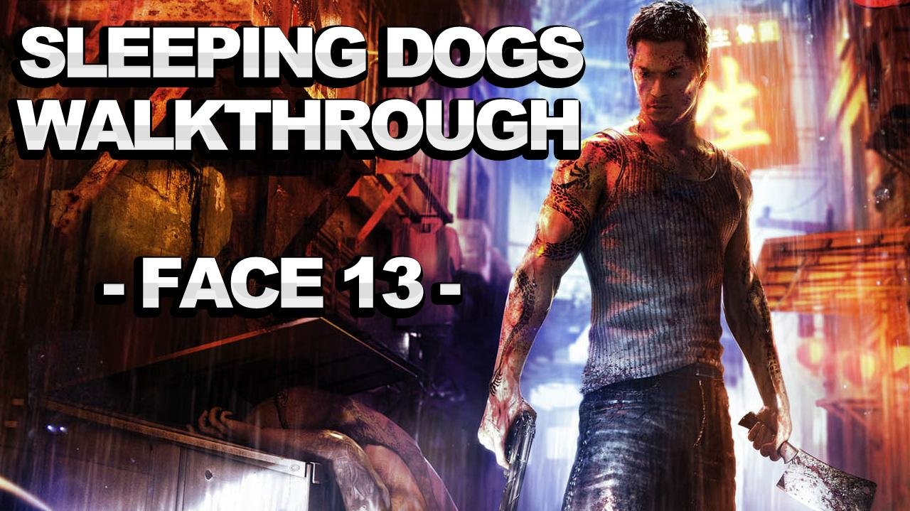 Sleeping Dogs - Face Side Mission 13 - Drunk Disposal