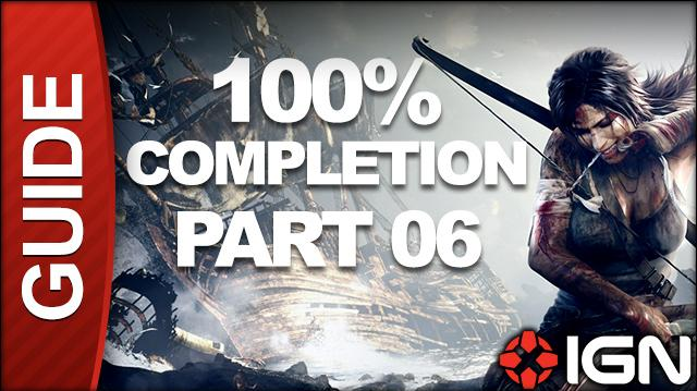 Tomb Raider 100% Completion Walkthrough - Part 06 Mountain Rendezvous