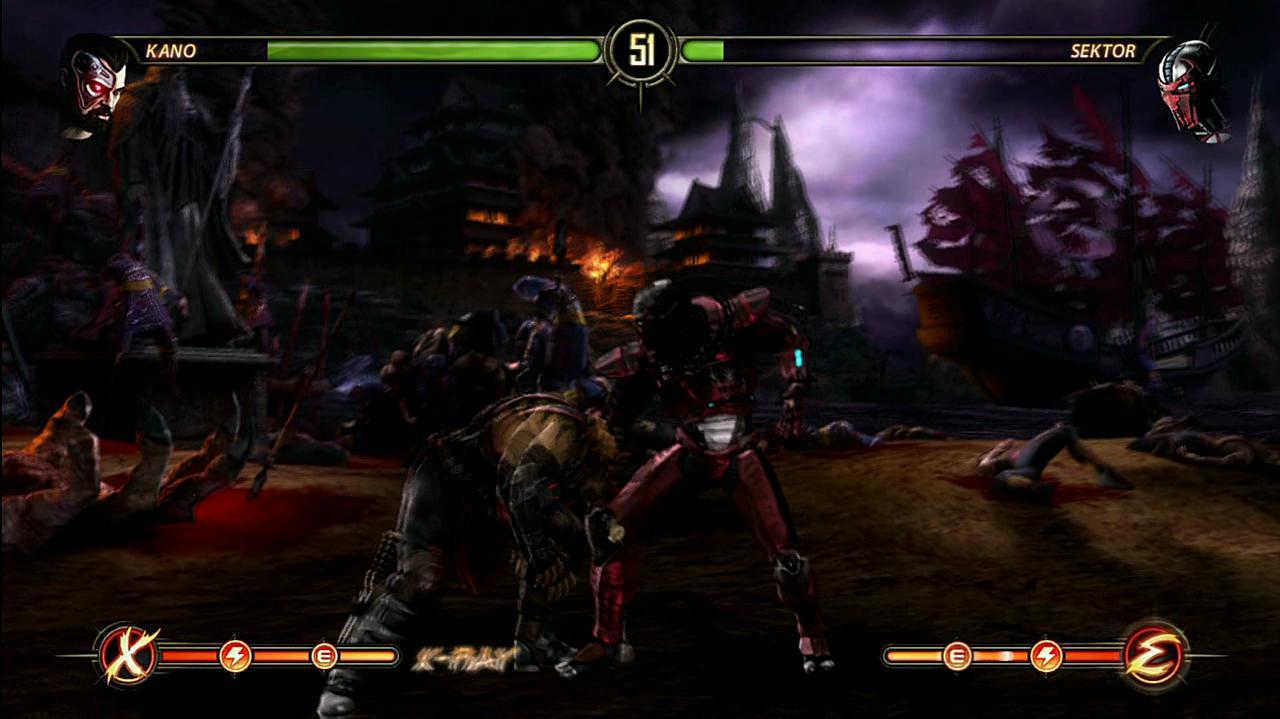 Mortal Kombat Kano Fatalities