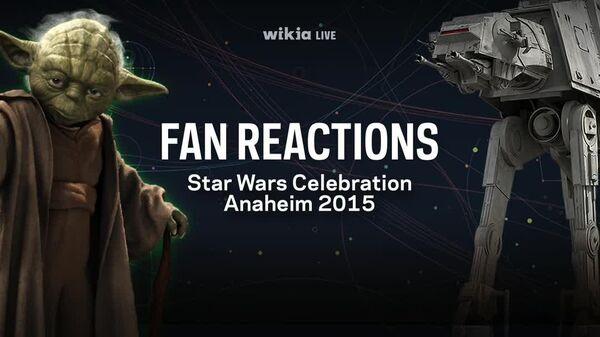 Star Wars Celebration Fan Reaction - R.C