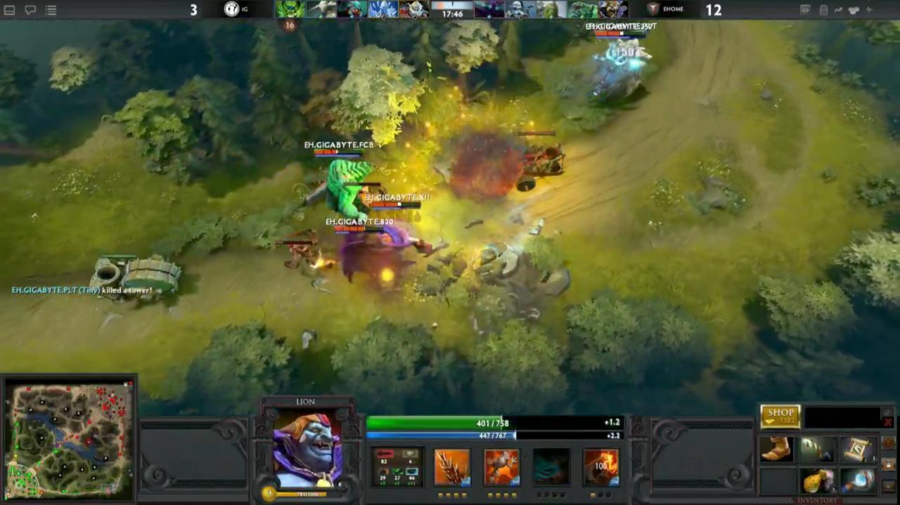 Gamescom DOTA 2 First Blood Gameplay