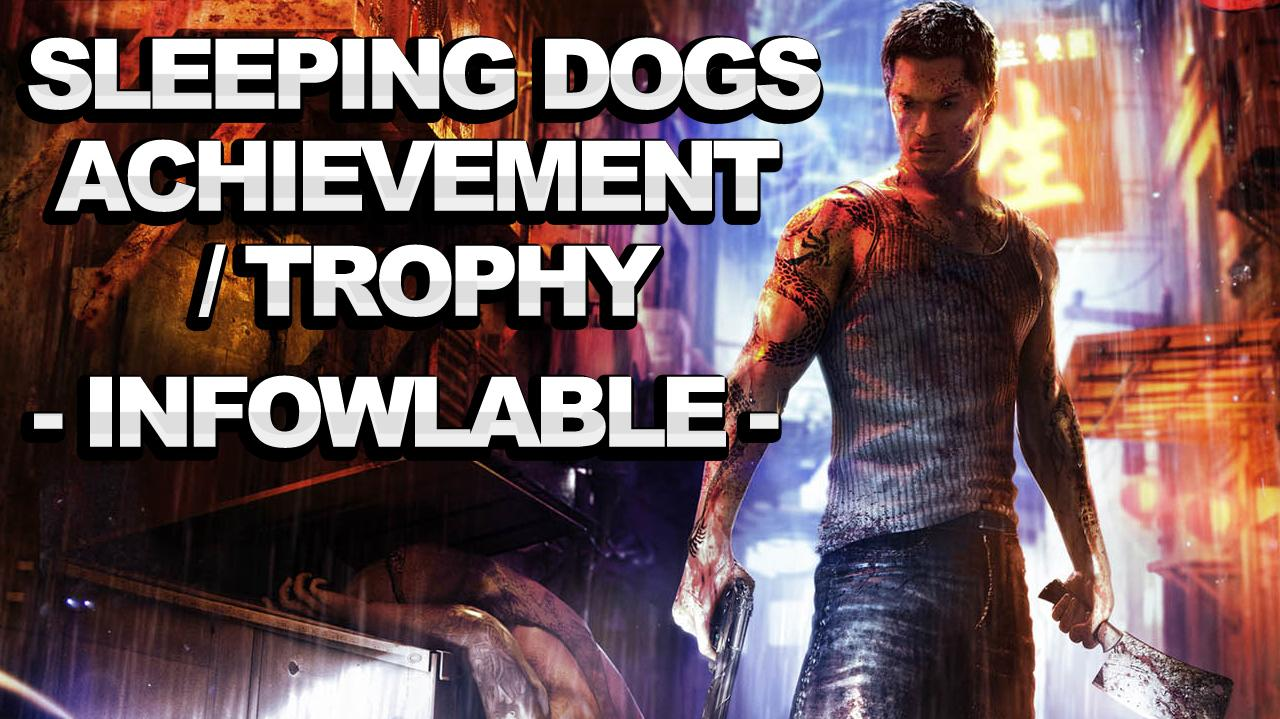 Sleeping Dogs Achievement Trophy - Infowlable
