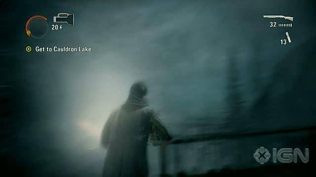 Alan Wake X360 - Walkthrough - Alan Wake - Nightmare Difficulty - Episode 6 - Mine Cart