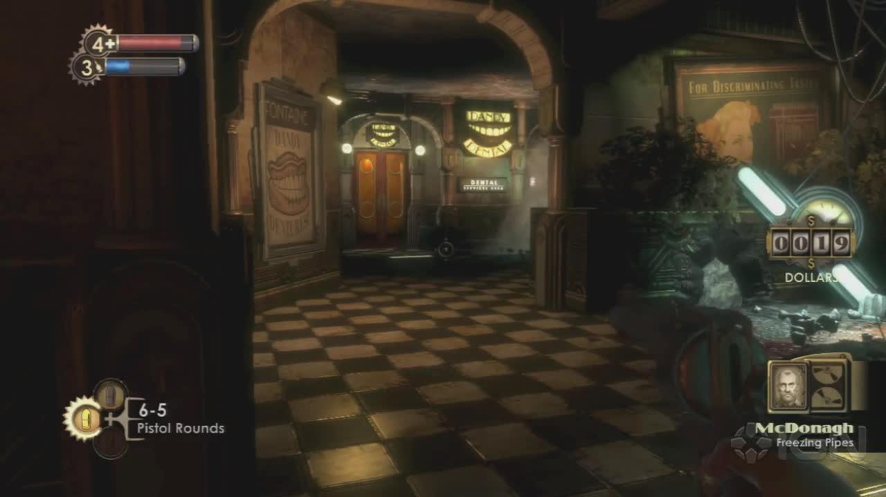 BioShock - Diaries McDonagh - Gameplay