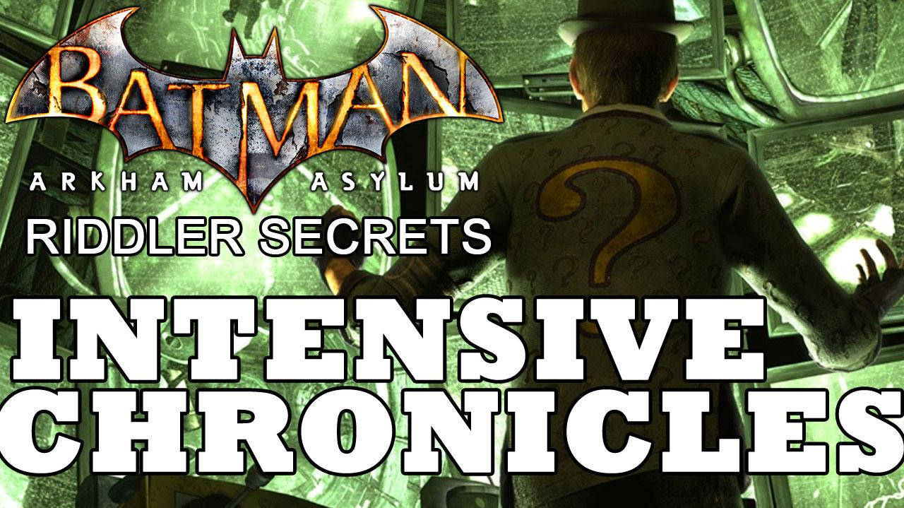 Batman Arkham Asylum Intensive Treatment Chronicle Locations