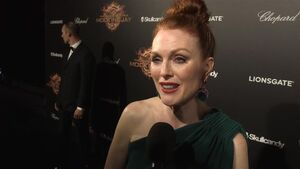 The Hunger Games Mockingjay Part 1 - Julianne Moore Interview