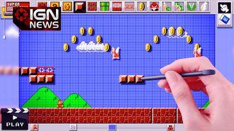 Nintendo Unveils Mario Maker for Wii U - E3 2014