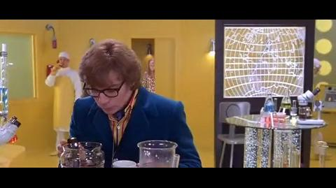 Austin Powers The Spy Who Shagged Me - drinks stool sample