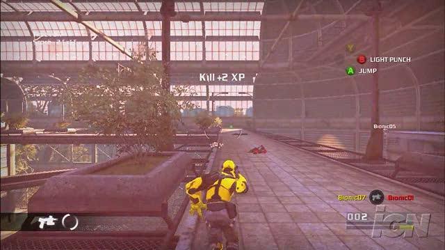 Bionic Commando PlayStation 3 Gameplay - Bionic Showdown