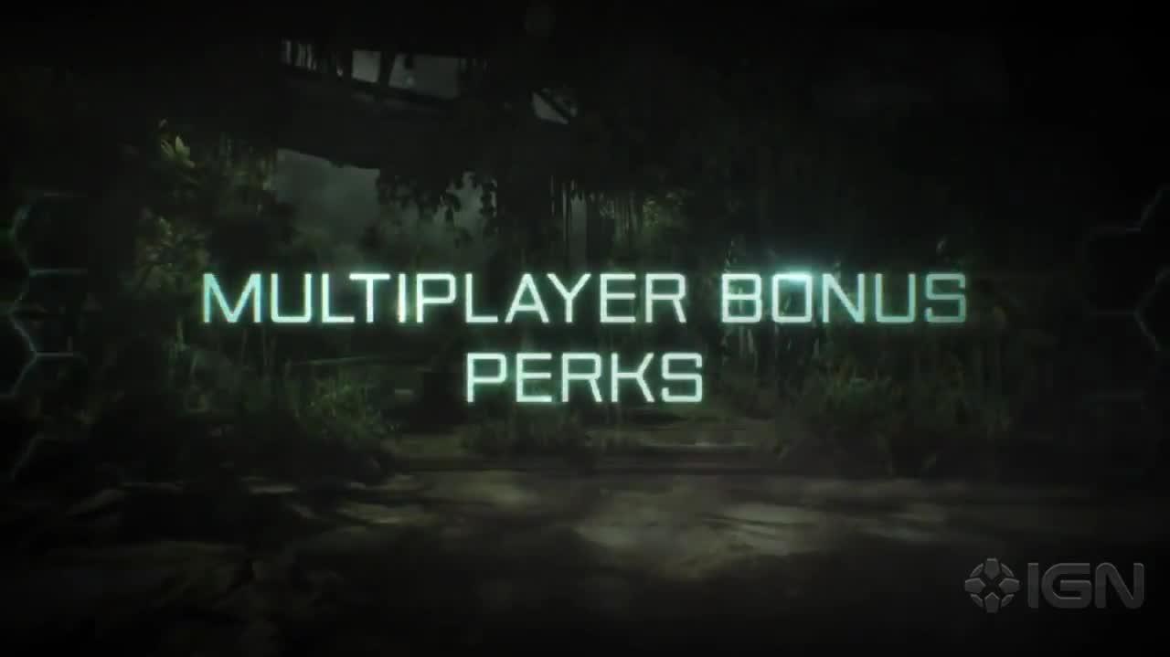 Crysis 3 Hunter Edition Preorder Trailer