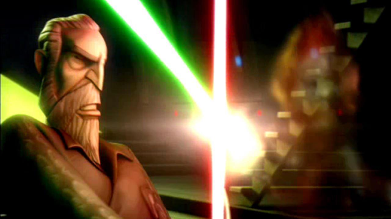 Clone Wars Clip - Dooku vs.Nightsisters