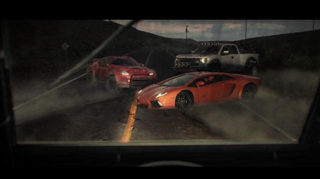 The Crew - Live Gameplay Demonstration - E3 2013 Ubisoft Conference