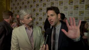 Ant Man - SDCC 2014 Michael Douglas and Paul Rudd Interview
